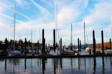 Boats at an Oregon Pier