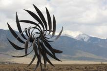 Windmill in the desert