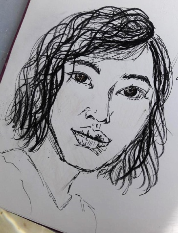 First Sketch of Mimi